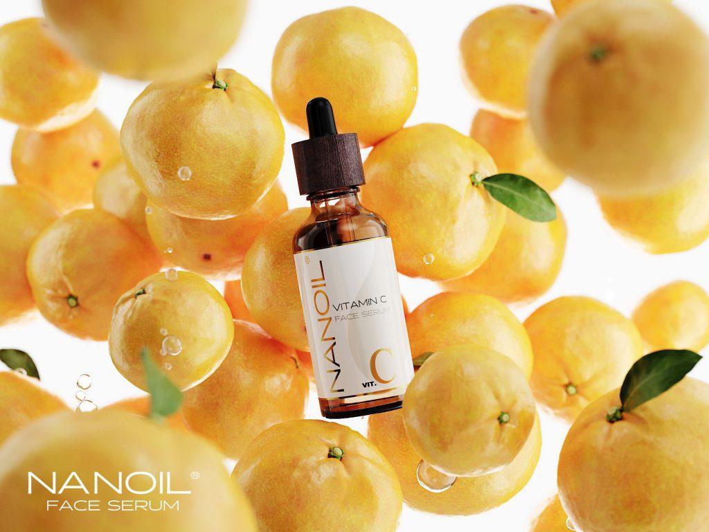 Pele suave e brilhante num instante! É assim que funciona o sérum facial com vitamina C da Nanoil