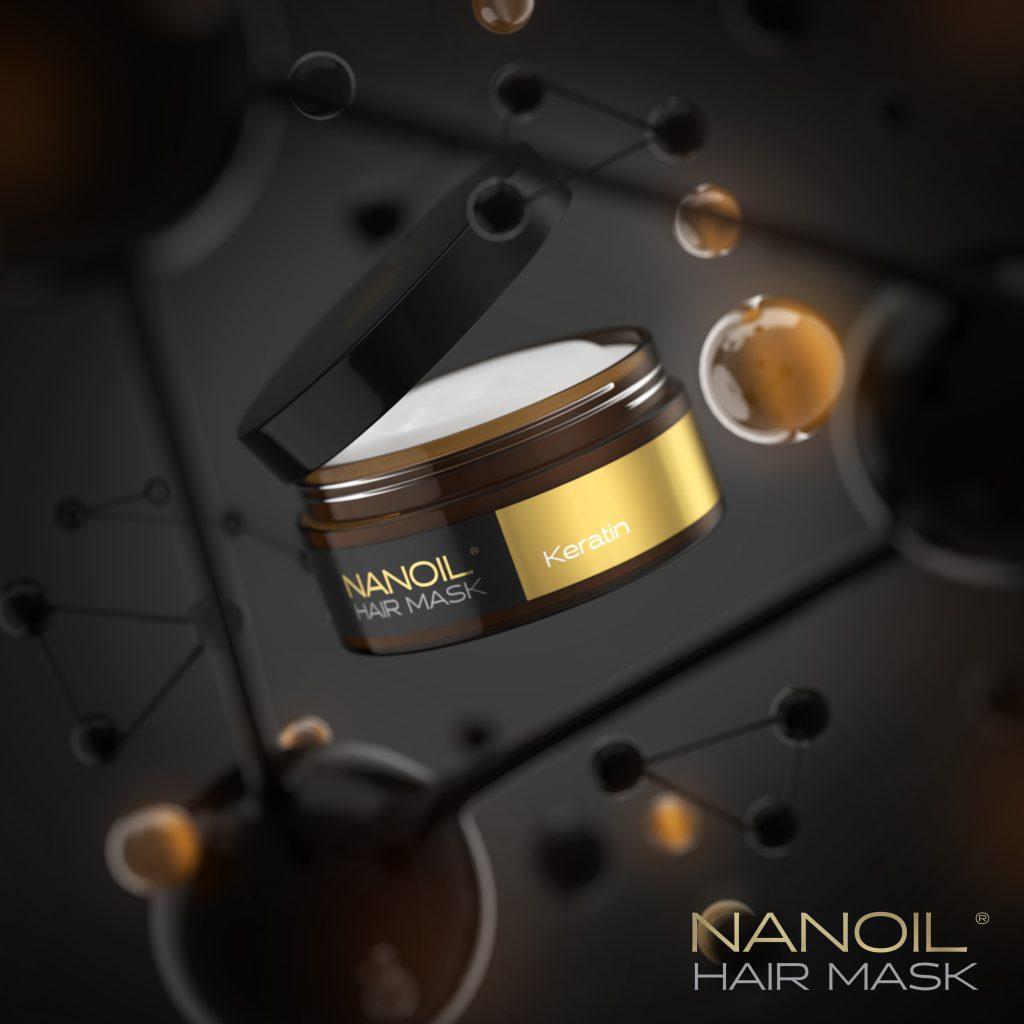 Nanoil Keratin Hair Mask: Plano de regeneração profissional para si
