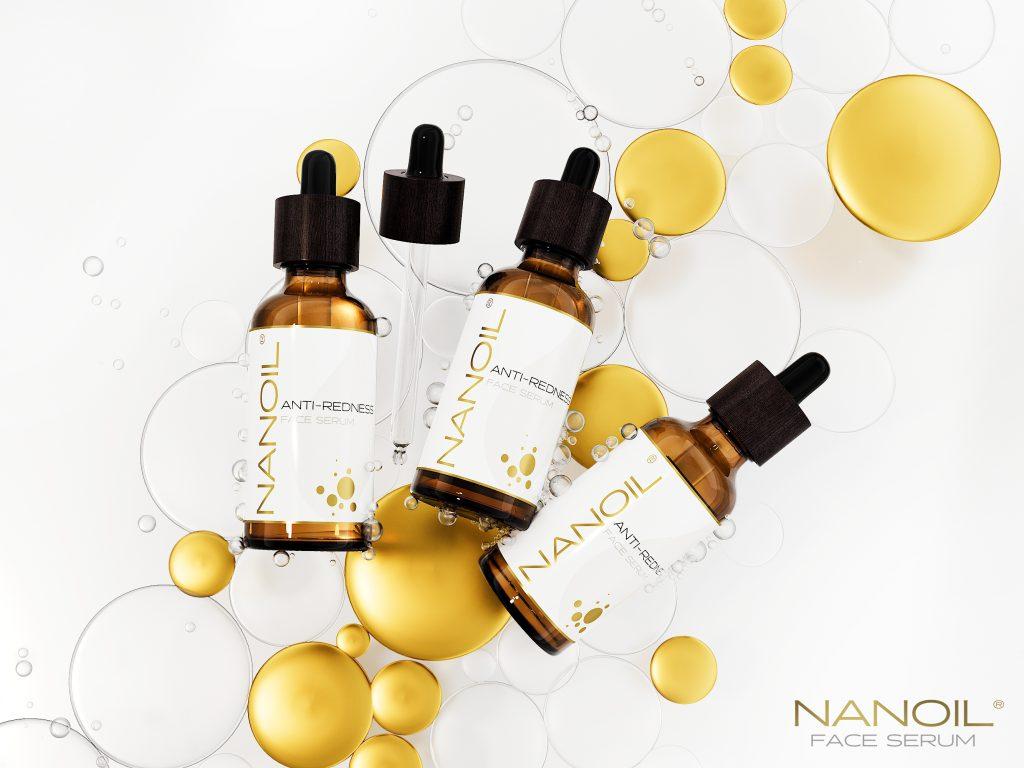 Cansada de ter a pele irritada? Experimente o Nanoil Anti-Redness Face Serum!